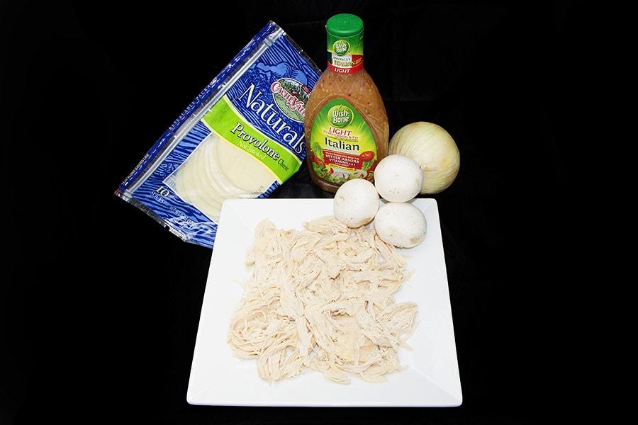 Italian Chicken Sandwich Ingredients