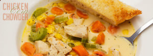 Chicken Corn Chowder Feature Image