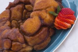 Monkey Bread Plated