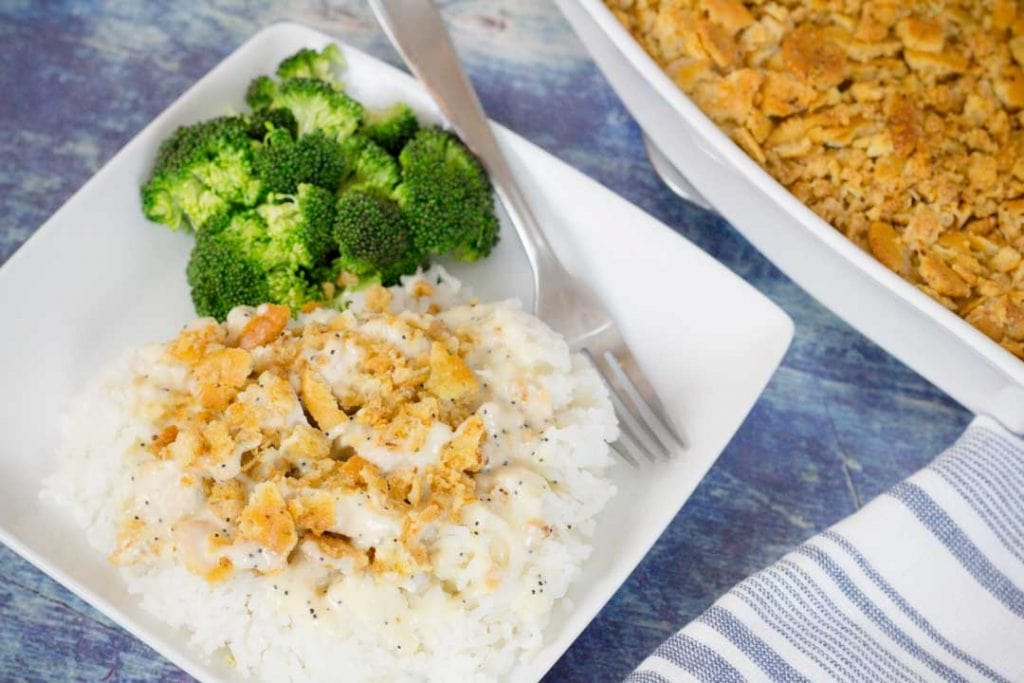 Chicken Poppy Seed Casserole