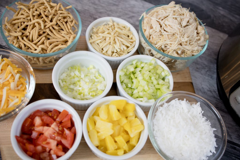 Hawaiian Haystacks Toppings
