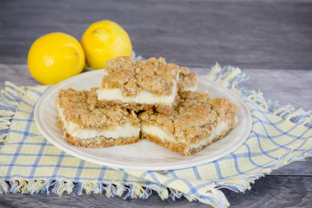 Lemon Oatmeal Bars