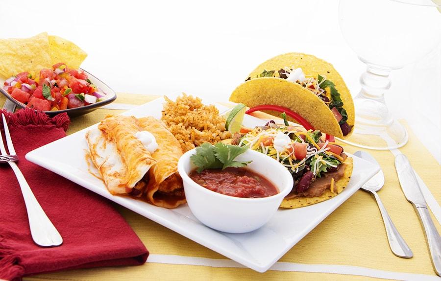 Hamburger Taco
