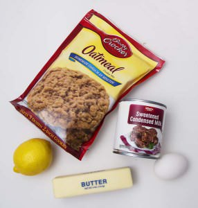 Oatmeal Lemon Bar Ingredient