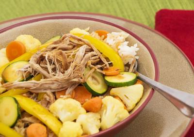 Pork Teriyaki Rice Bowl