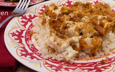 Poppy-seed Chicken Casserole