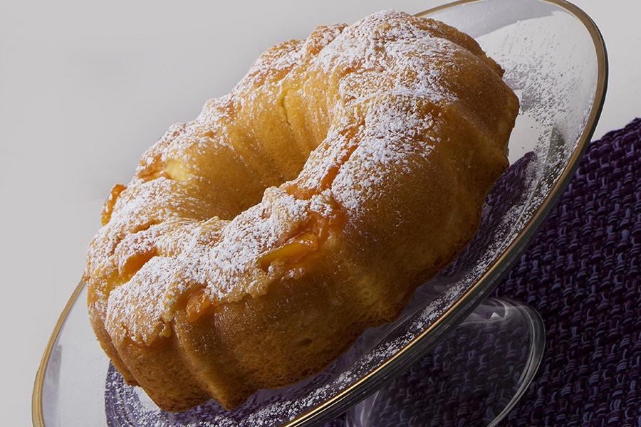Peach Bunt Cake
