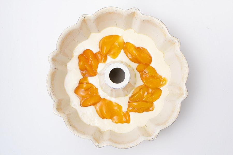 Sour Cream Peach Bunt Cake