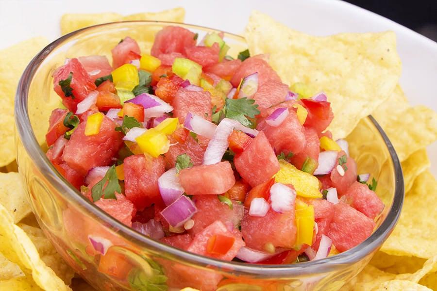 Watermelon Salsa Dip