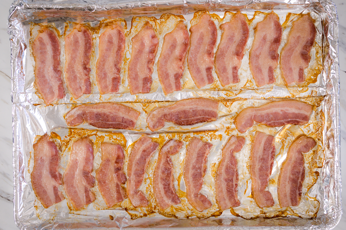 How to cook bacon in Oven
