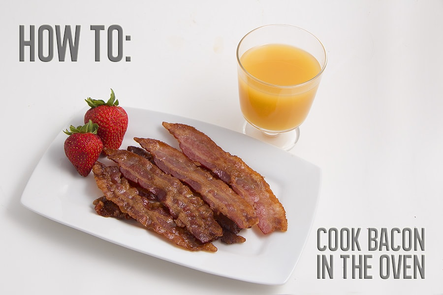 How To: Cook Bacon (in the oven)