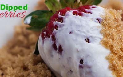 Sweet Dipped Strawberries