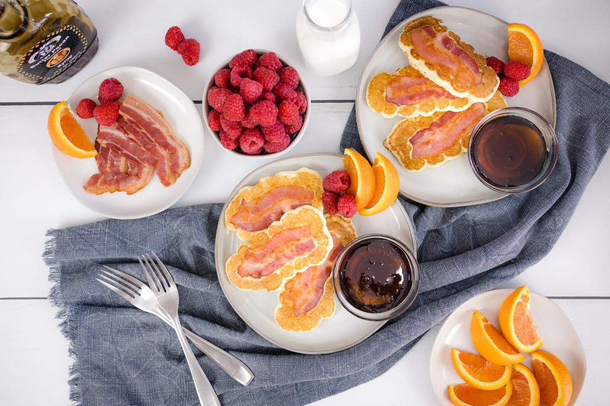 Bacon Pancake Breakfast