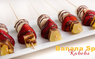 Banana Split Kabob