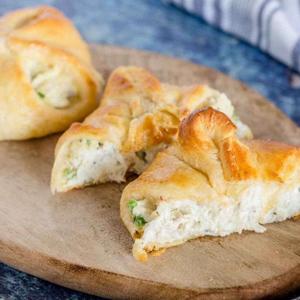 Cream Cheese Chicken Croissants