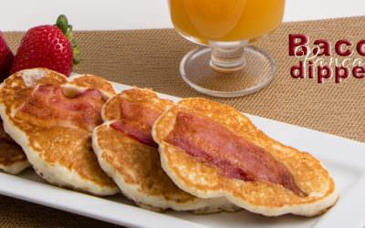 Bacon Pancake Dippers
