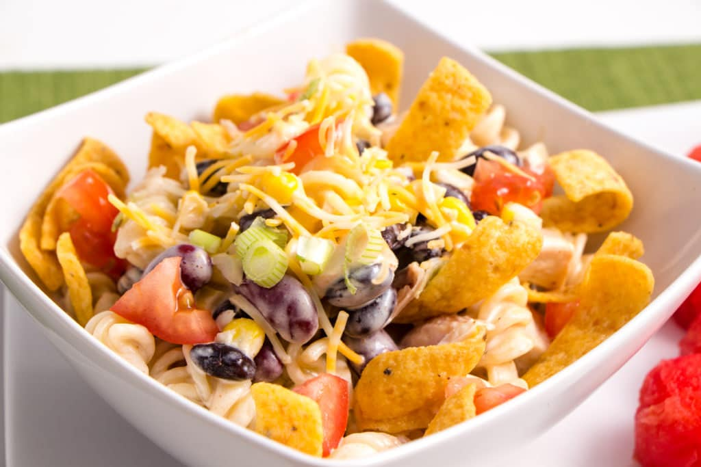 BBQ Ranch Chicken Pasta Salad