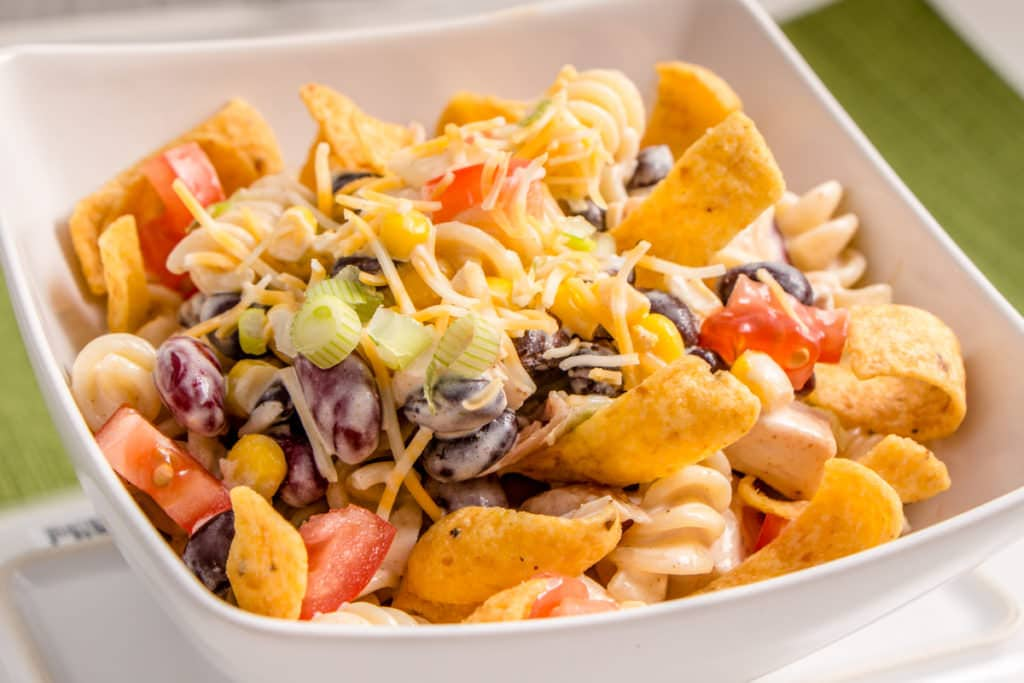 BBQ Chicken Ranch Pasta Salad