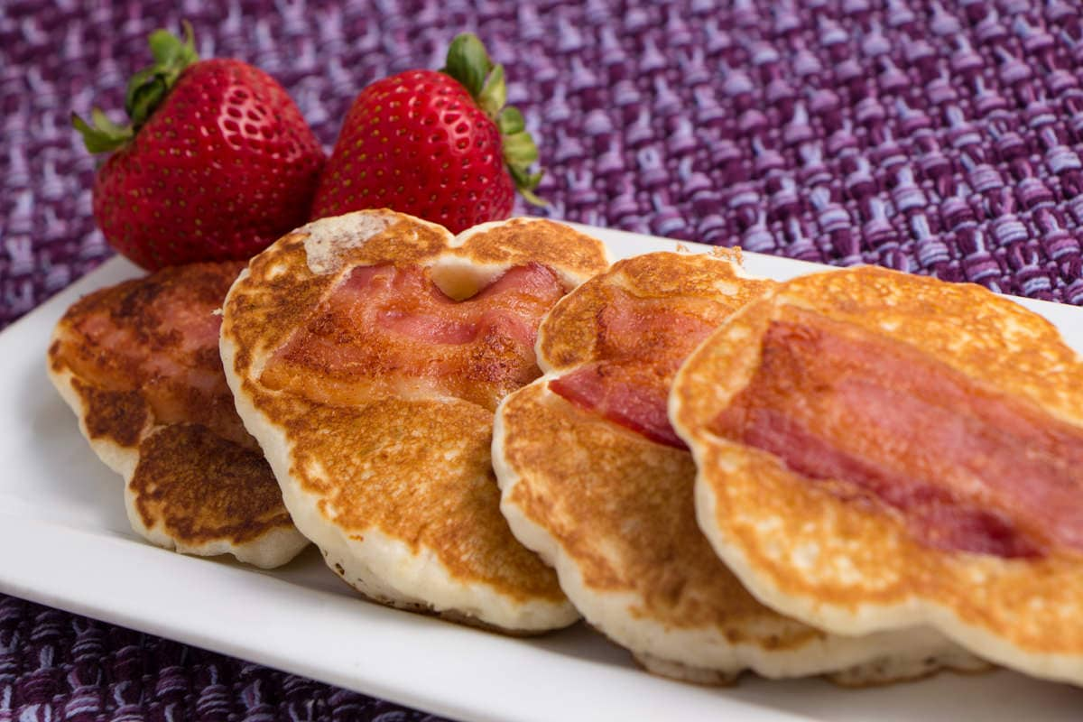 Bacon pancake dippers devour dinner we sure do bacon mixed with a little maple syrup oh yeah delicious the bacon pancake dippers are wonderful full of yummy flavor and delicious ccuart Gallery