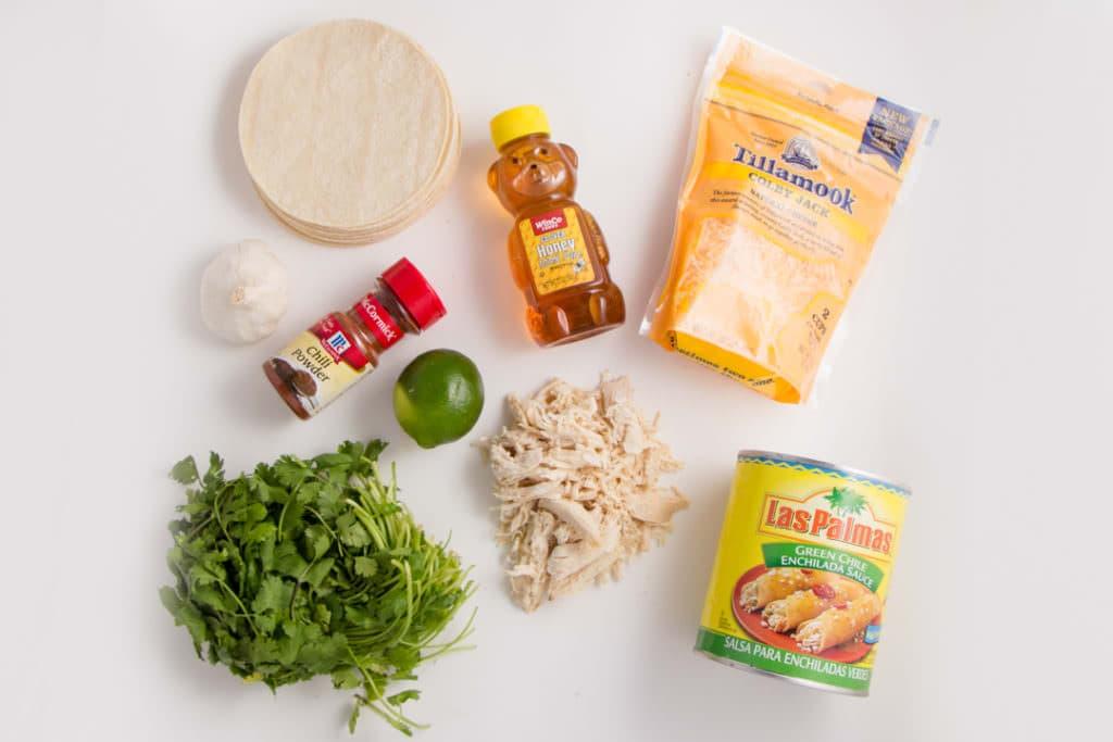 Honey Lime Enchilada Ingredients