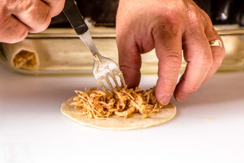 Chicken and Tortilla_Enchiladas