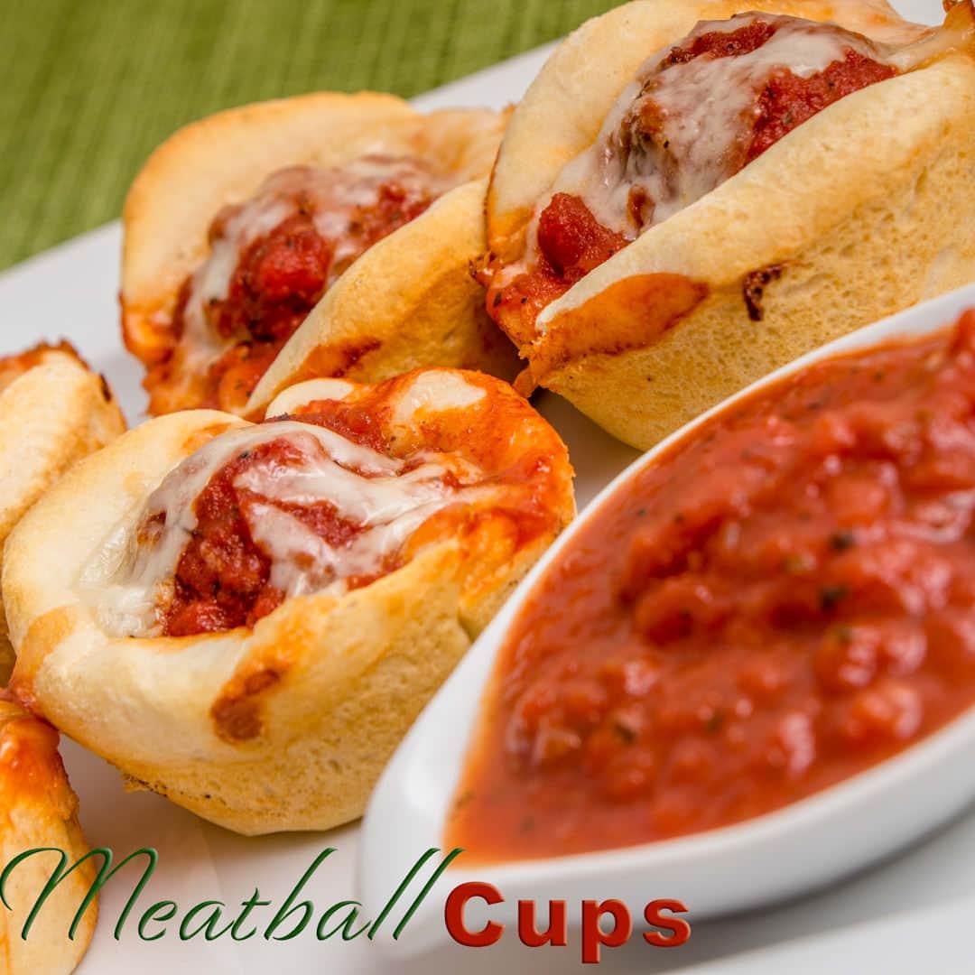 Meatball Cups