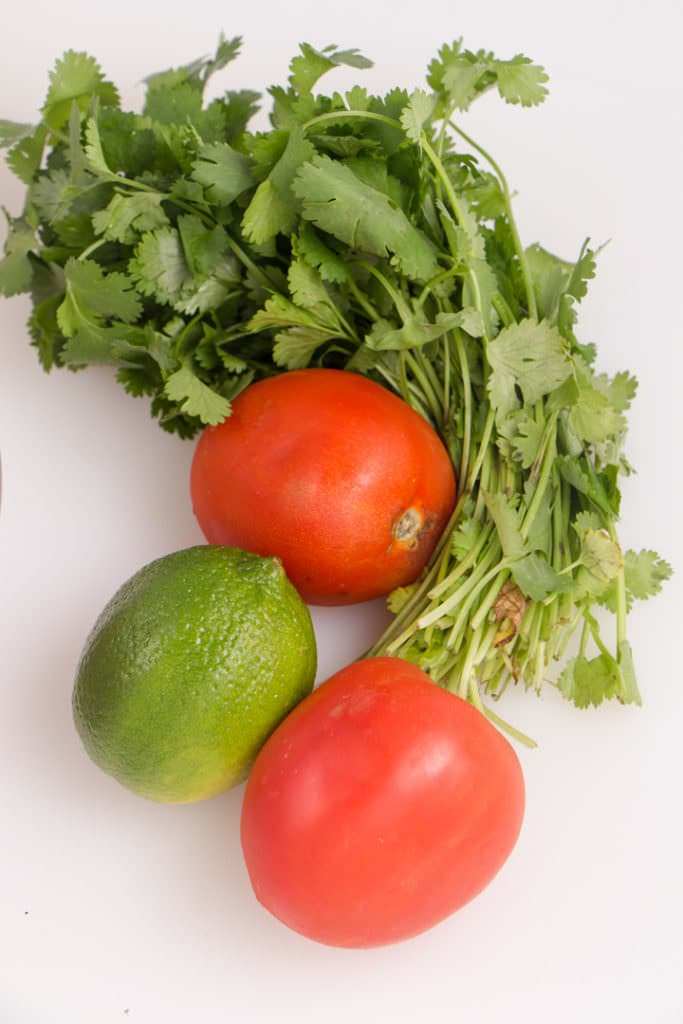 Fresh Ingredients for Tacos