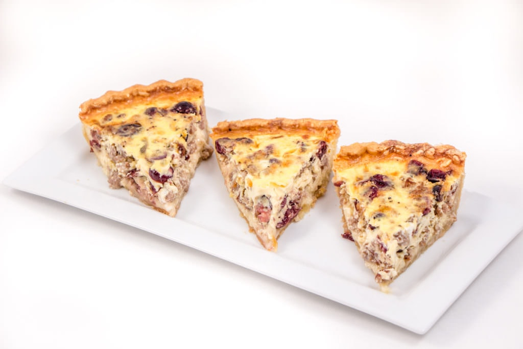 Sausage and Cranberry Quiche
