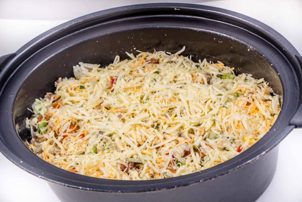 Easy Crock Pot Breakfast Casserole