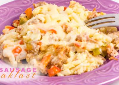Easy Crock Pot Breakfast Casserole