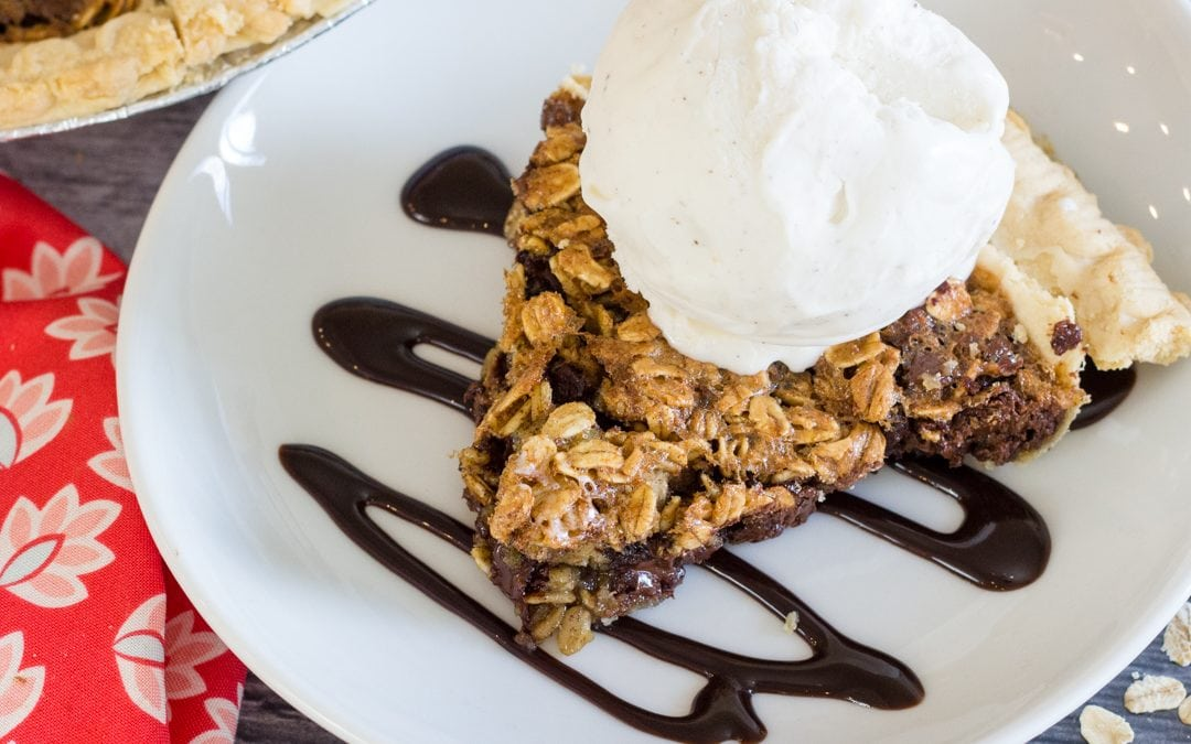 No Fail Chocolate Chip Cookie Pie