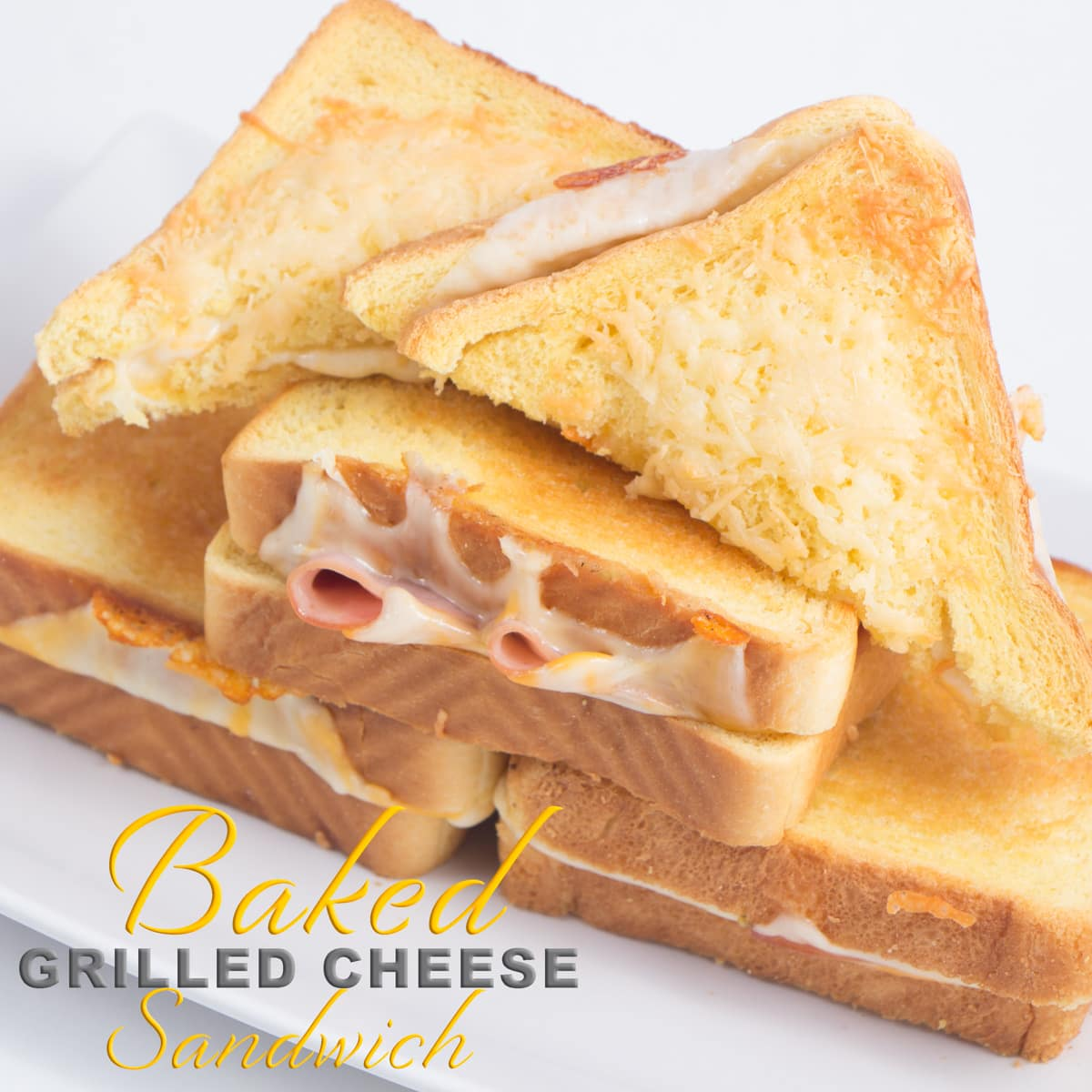 Baked Grilled Cheese Sandwich