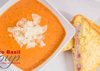 Tomato Basil Soup (Cafe Zupas Copy-Cat Recipe) in the Instant Pot