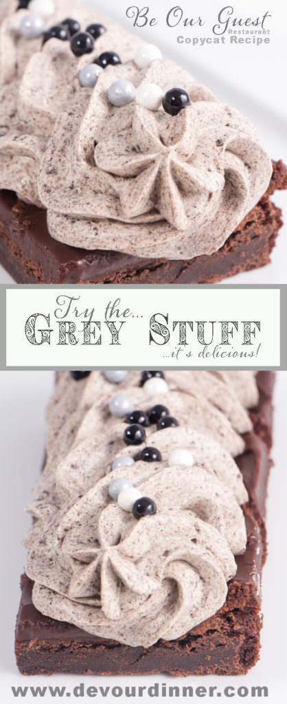 Grey Stuff Dessert Beauty and the Beast