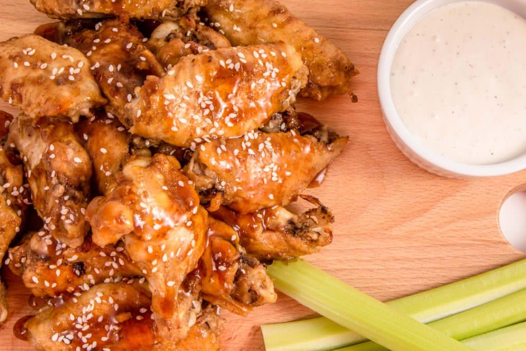 Teriyaki Ginger Chicken Wings