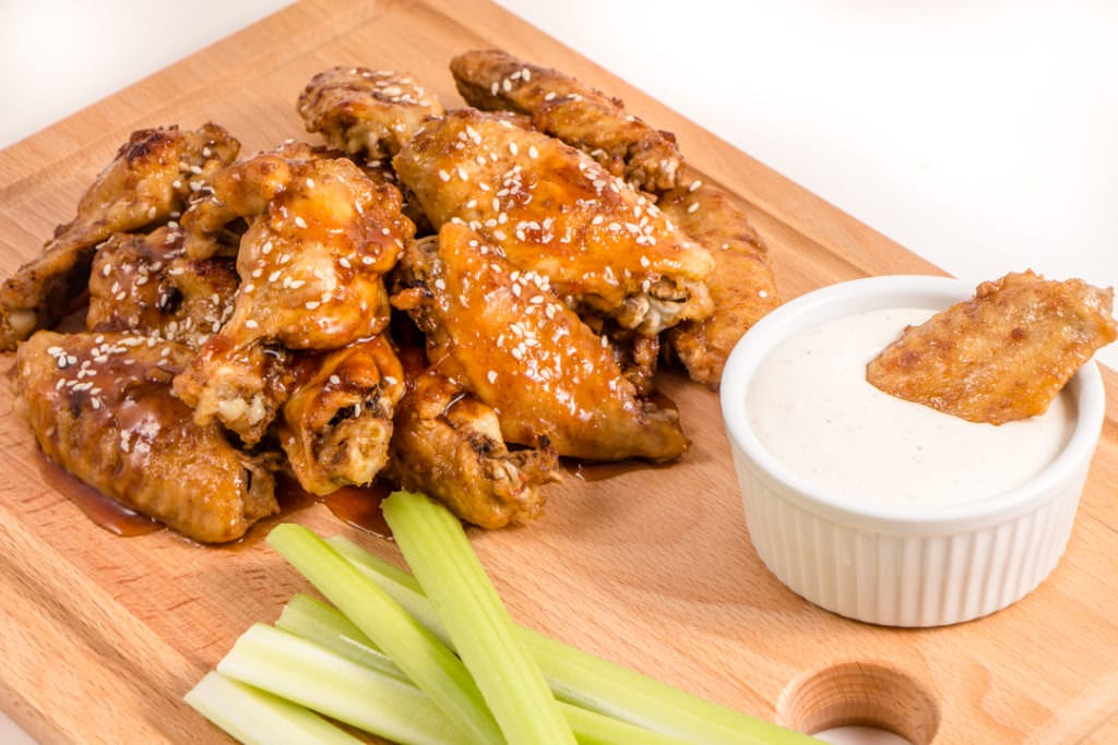 Teriyaki Ginger Chicken Wings