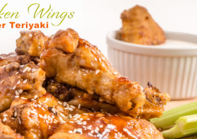 Teriyaki Ginger Chicken Wings | Instant Pot Recipe