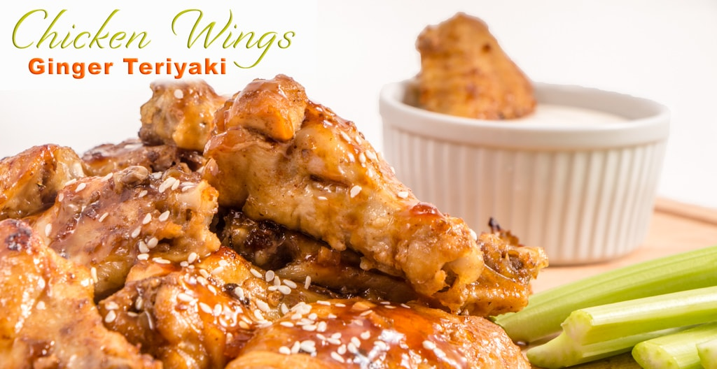 Teriyaki Ginger Chicken Wings   Instant Pot Recipe