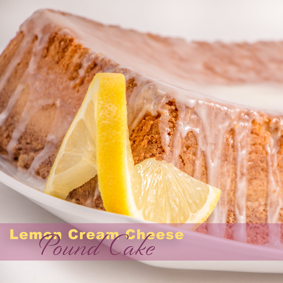 Velvety Smooth Easy Lemon Cream Cheese Pound Cake