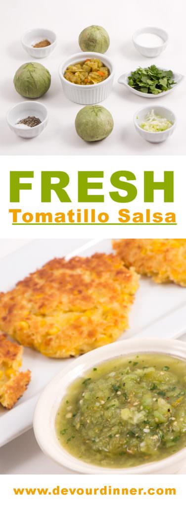 Fresh Tomatillo Salsa