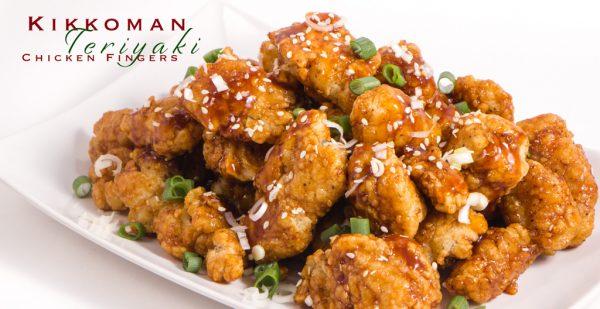 Teriyaki Chicken Fingers