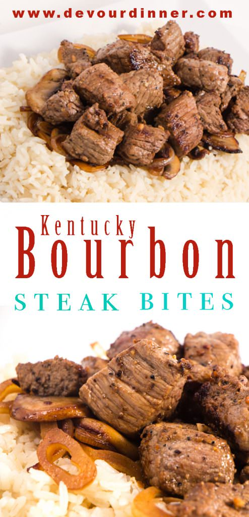 Kentucky Bourbon Steak Bites