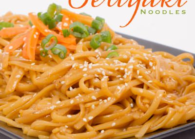 Quick and Easy Teriyaki Noodles Recipe