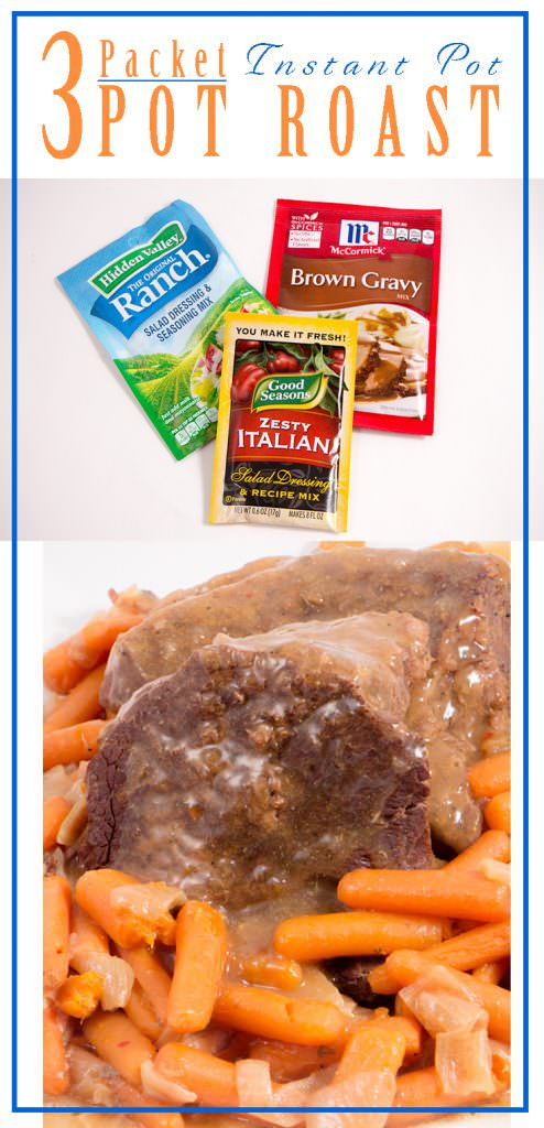 3 Packet Beef Pot Roast