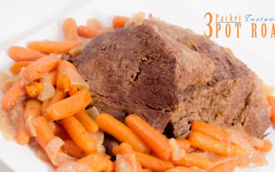 3 Packet Pot Roast ~ Instant Pot