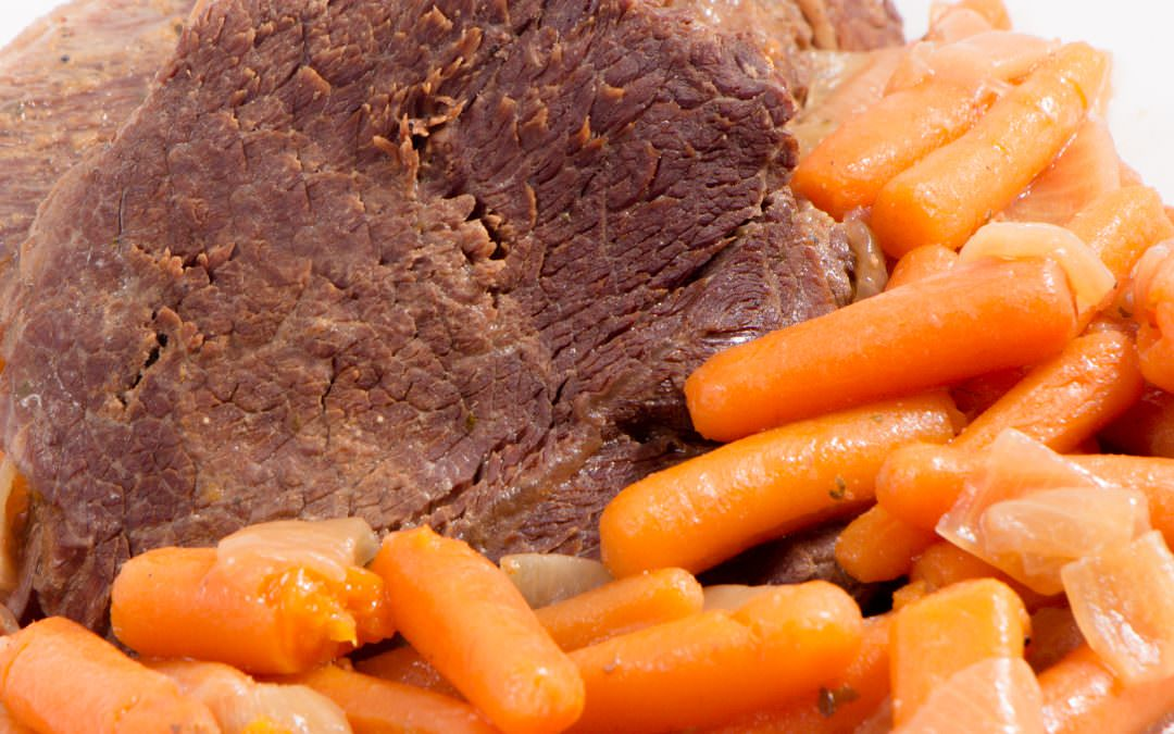 Easy and Delicious 3 Packet Pot Roast with Gravy