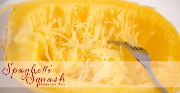 Spaghetti Squash ~ Instant Pot