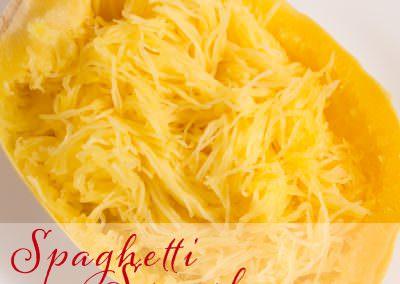 Easy to make Instant Pot Spaghetti Squash