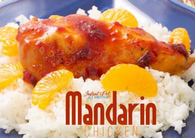 One Pot Proven favorite Mandarin Chicken and Rice Dinner