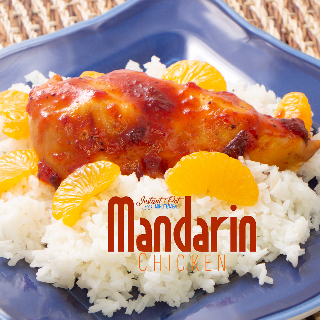 One Pot Proven favorite Mandarin Chicken and Rice Dinner